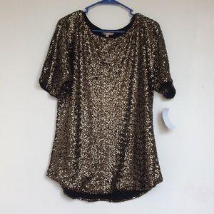 Gibson Latimer Sequin Dress